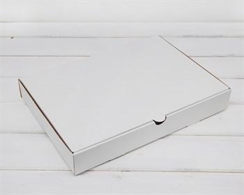 УЦЕНКА Коробка плоская 33х23х5 см, белая