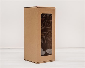 УЦЕНКА Коробка для кукол, с окошком, 30х13х13 см, крафт