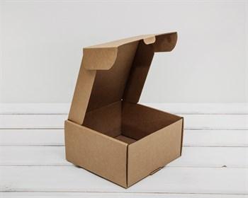 УЦЕНКА Коробка для посылок, 15х15х8 см, из плотного картона, крафт