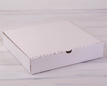 УЦЕНКА Коробка для пирога 35х35х7 см, белая