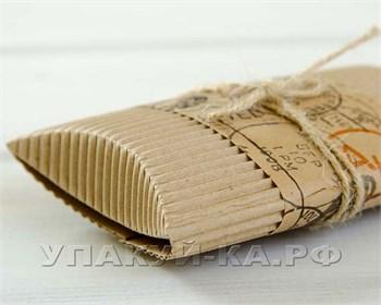 Коробка с  полосой для пожеланий   Письмо   и бечевкой, 12х8х2 см