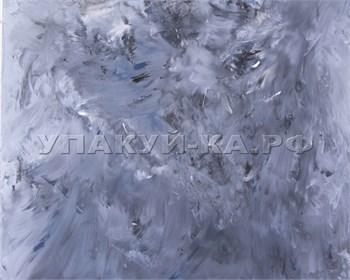 Фотофон  под бетон, иссиня-черный с белым, 60х60 см