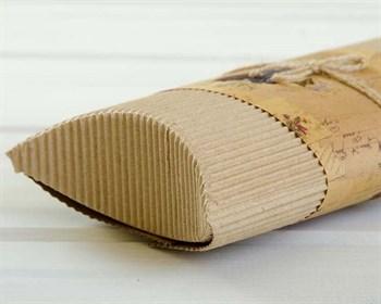 Коробка с декоративной полосой для пожеланий и бечевкой, 22х11х5 см