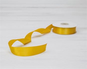 Лента атласная, 24 мм, золотая, 1 м