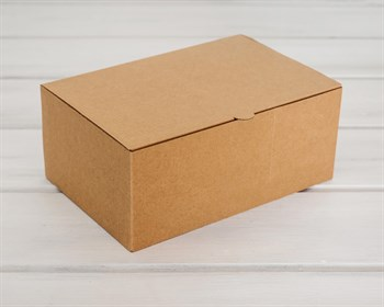 Коробка для посылок, 24х16х10 см, из плотного картона, крафт