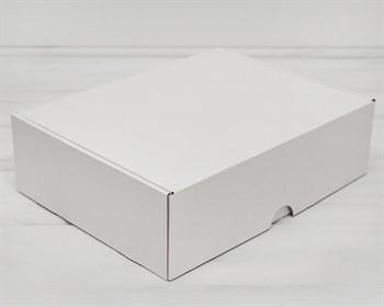 Коробка для капкейков/маффинов на 12 шт, из плотного картона, 35х26,5х10 см, белая ( БЕЗ ЛОЖЕМЕНТА)
