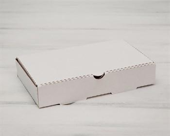 Коробка 25х15х4,5 см из плотного картона, белая