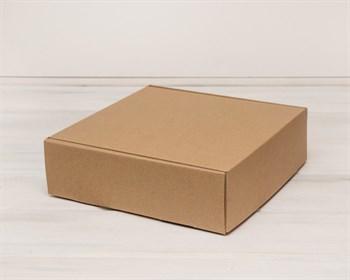 Коробка для посылок 28х28х8,5 см, крафт
