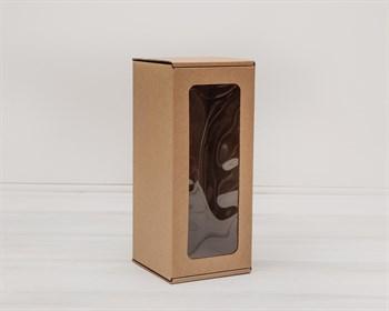 Коробка для кукол, с окошком, 25х11х11 см, крафт