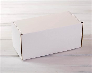 Коробка для посылок 26х12,5х12 см, белая