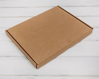 Коробка плоская 23,5х30,5х2,5 см, крафт