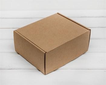 Коробка для посылок, 19х16х8,5 см, из плотного картона, крафт