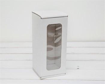 Коробка для кукол, с  окошком, 20х9х9 см, белая