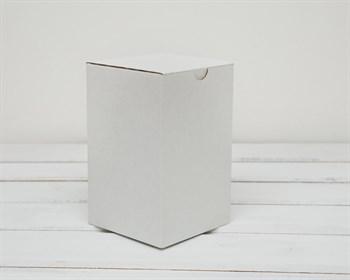 Коробка для посылок, 10х10х16 см, из плотного картона, белая