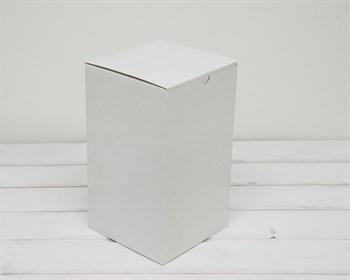 Коробка для посылок, 15х15х26 см, из плотного картона, белая