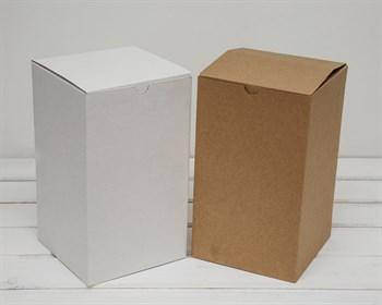 Коробка для посылок, 15х15х26 см, из плотного картона, крафт