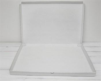 Коробка плоская 61х41х3,5 см, белая