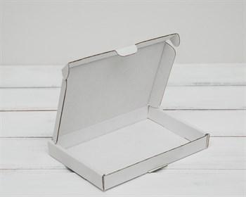 Коробка плоская, 16х11х2 см, белая