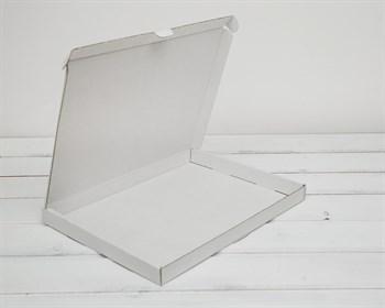 Коробка плоская 23,5х30,5х2,5 см, белая