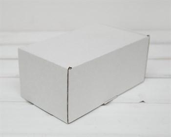 Коробка для посылок, 17х10х8 см, из плотного картона, белая