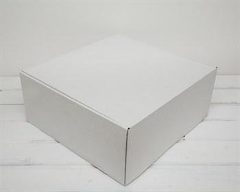 Коробка для посылок 36х35х15 см, белая