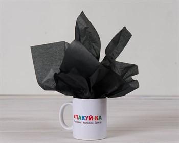Бумага тишью, черная, 50х66 см