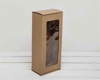 Коробка для кукол, с окошком, 30х13х8 см, крафт