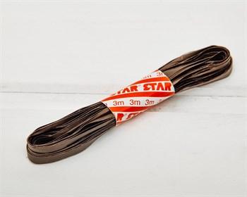 Рафия 15 мм, коричневая , 3 м