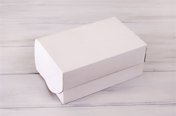 Коробка для выпечки, 25х16х11 см, белая