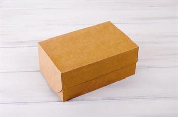 Коробка для выпечки, 25х16х11 см, крафт