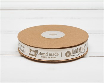 Лента льняная №1 HAND MADE, 15 мм, 1м