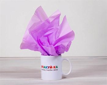 Бумага тишью, лиловая, 50х66 см