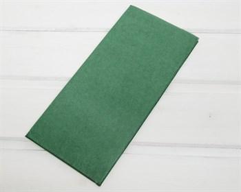 Бумага тишью, темно-зеленая, 50х66 см  10 шт.