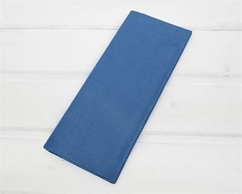Бумага тишью, синяя, 50х66 см 10 шт.