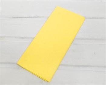Бумага тишью, лимонная, 50х66 см 10 шт.