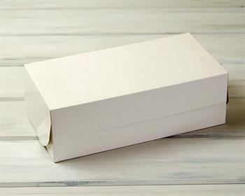 Коробка для выпечки и пирожных, 33х16х11 см, белая