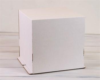 Коробка для торта от 1 до 5 кг, 30х30х30 см, белая