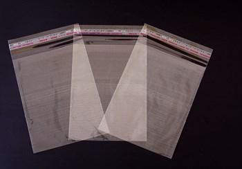Пакет  с клейкой лентой 15х20 см, прозрачный