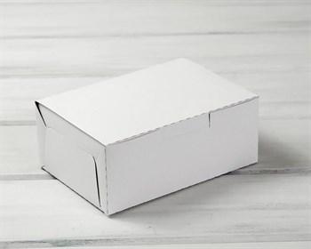 Коробка для выпечки и пирожных, 20х14х8 см, белая