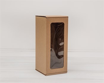 УЦЕНКА Коробка для кукол, с окошком, 25х11х11 см, крафт