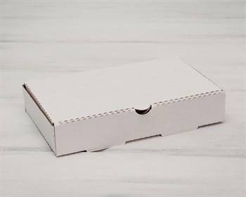УЦЕНКА Коробка 25х15х4,5 см из плотного картона, белая