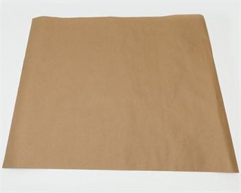 Бумага упаковочная, 84х70см, 78 гр/м2, крафт, 1 лист