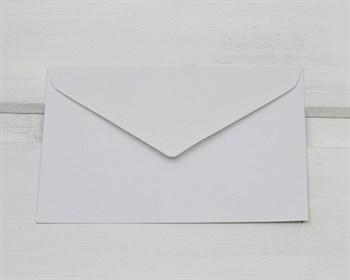 Конверт бумажный, для визиток 74х112 мм, белый (декстрин)