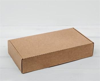 Коробка 29,5х15х6 см из плотного картона, крафт