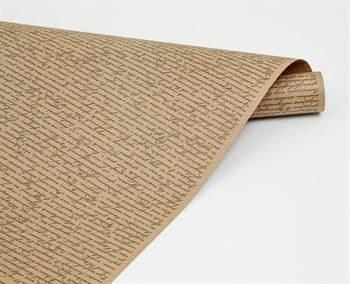 Бумага упаковочная, 70г/м2, рукопись серая, 72см х 10м, 1 рулон