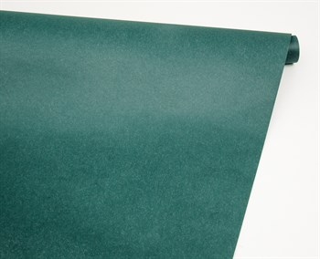 Бумага упаковочная, 70 гр/м2, изумрудная, 70см х 10м, 1 рулон