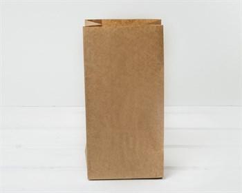 Крафт пакет бумажный, 24х12х8,5 см, коричневый