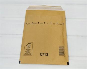 Пакет с воздушной подушкой  C/13, 130х210мм, крафт