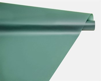 Пленка матовая, 59см х 10м, светло-изумрудная, 1 рулон