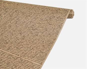 Бумага упаковочная, 40гр/м2, рукопись черная, 72см х 10м, 1 рулон